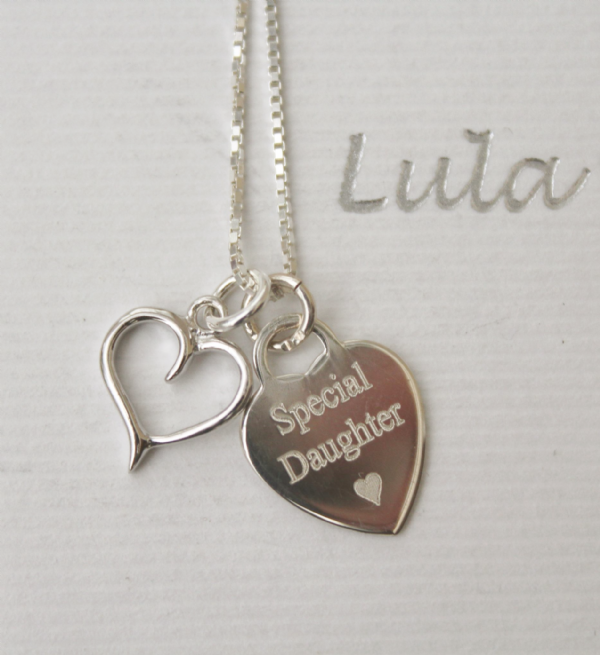 Bridesmaid's gift - engraved jewellery - FREE ENGRAVING